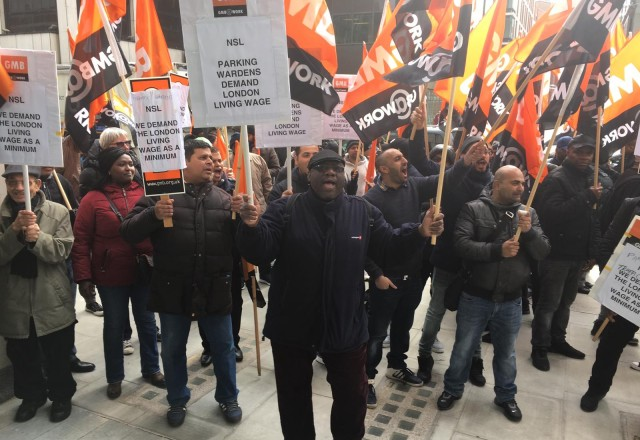 NSL Westminster Strike February/March 2019