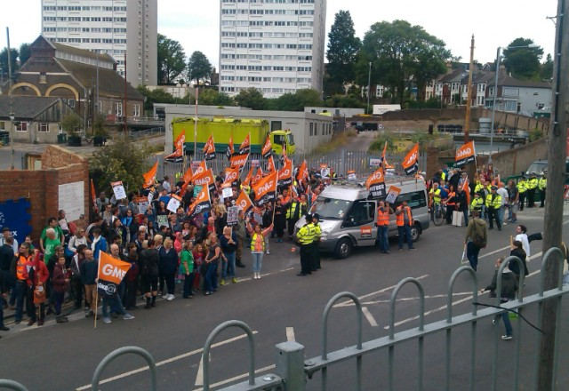 Schools & Local Government Strike July 2014