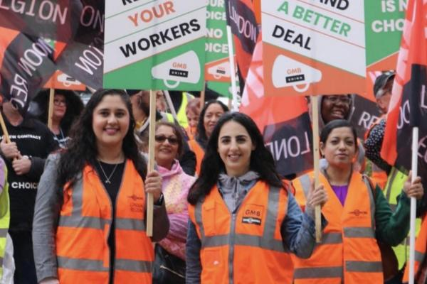 GMB members tell Asda: Respect your Workers with mass demonstration in Leeds