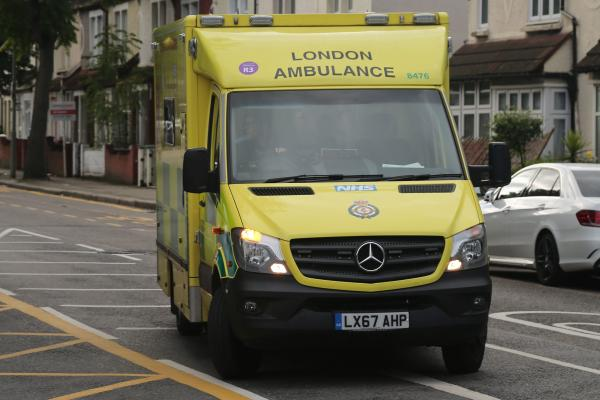 Ambulance workers ballot for Strike Action at St George's Hospital