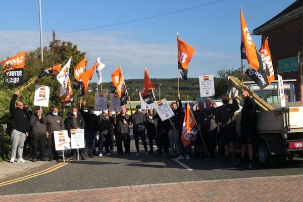 GMB announce further 10 days of action at Brighton & Hove City Council Housing Repairs department