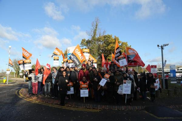GMB fears as Frimley Health Trust using untrained agency workers to cover striking NHS staff