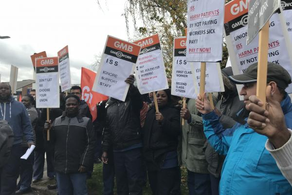 GMB to step up Kingston Hospital campaign following successful march