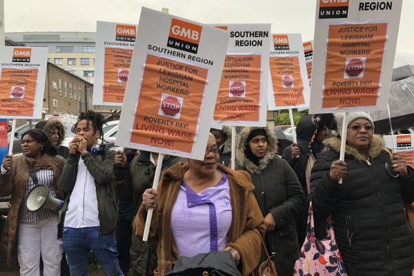 Lewisham Hospital workers continue fight after ISS Living Wage announcement
