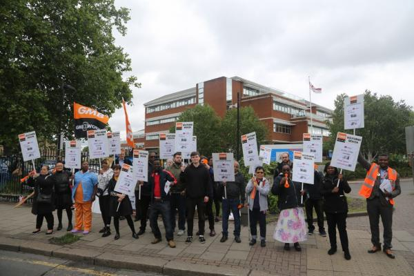 GMB say deteriorating hospital standards are result of privatisation