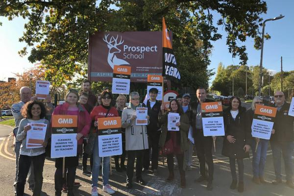 GMB Prospect School cleaners win fight against privatisation