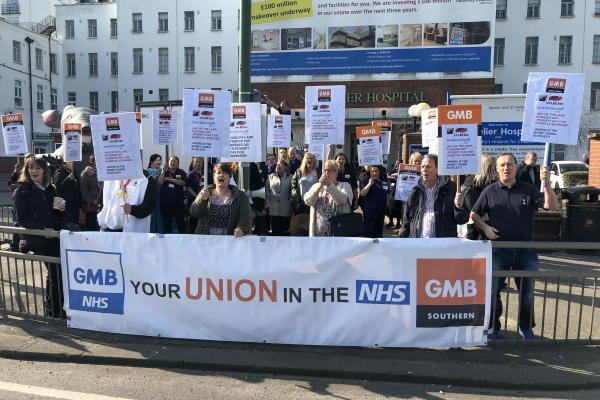 GMB say change of Facilities Management contract at Epsom & St Helier Hospital a missed opportunity