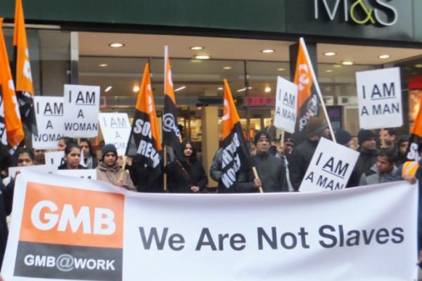 GMB calls on Government to end Swedish derogation