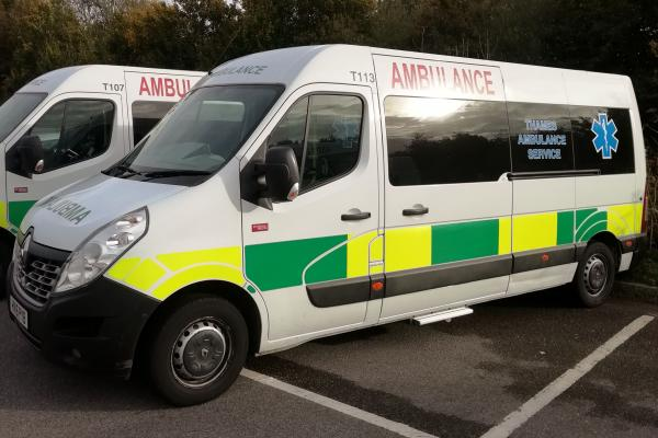 GMB warns Sussex Patient Transport Services moving closer to crisis point